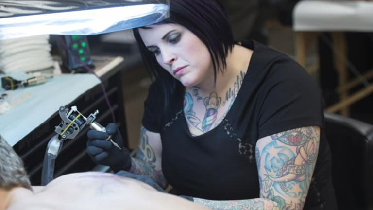 Ink Master's Duffy Fortner Talks Growing Up in a Tattoo Shop