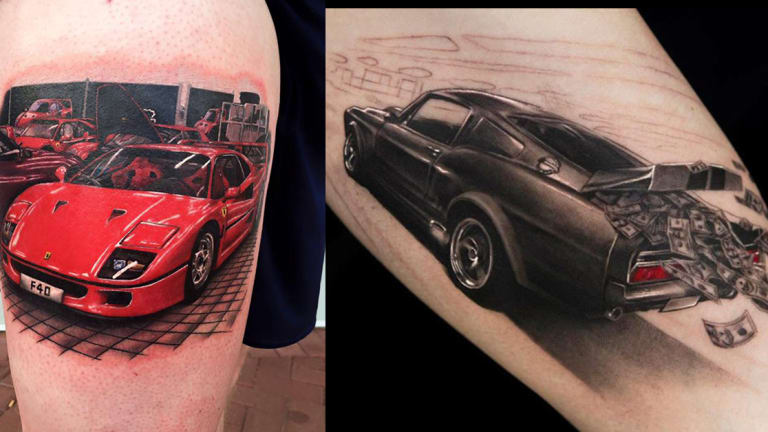 25 Fast and Furious Tattoos