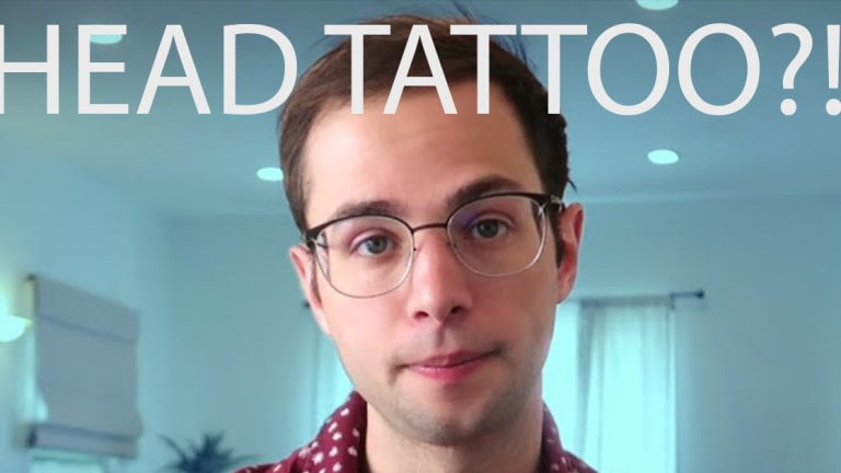 Try Guy Zach Kornfeld Tattooed His Head: But It's Not What You Think