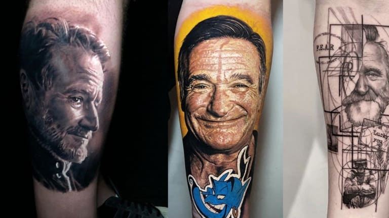 Celebrate Robin Williams' Birthday with 15 Tattoos of the Comedy Icon