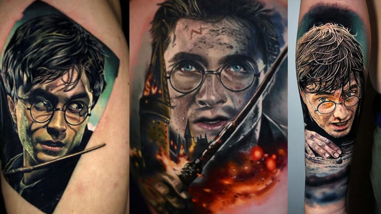 Celebrate Daniel Radcliffe's Birthday with 10 Harry Potter Tattoos