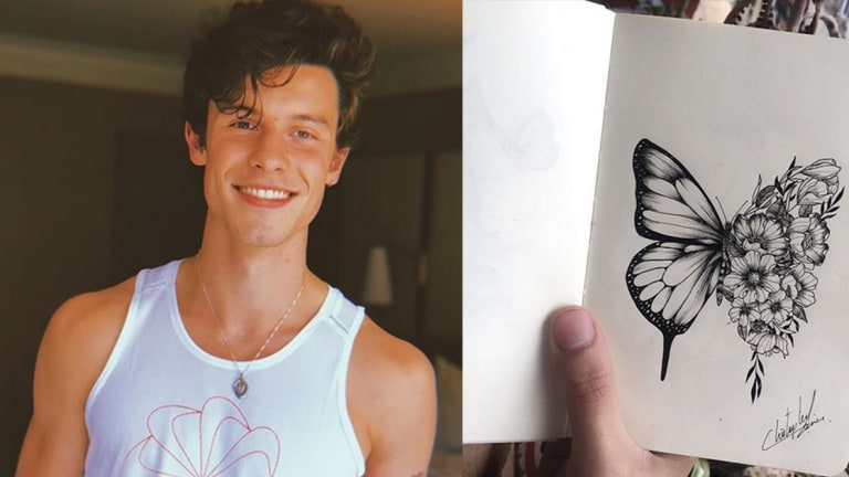 Shawn Mendes Debuts Huge New Tattoo