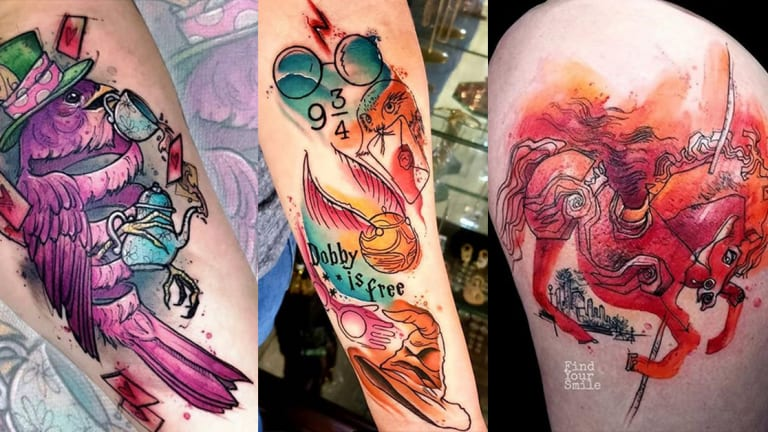 Celebrate Book Lover's Day with 65 Literary Tattoos