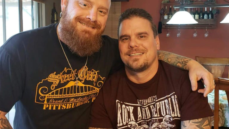 Brothers Who Were Separated At Birth Finally Met, To Find They Are Both Covered In Tattoos