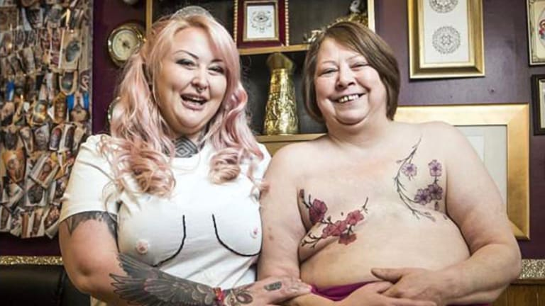 Realistic Nipple Tattoos Win Big at Convention