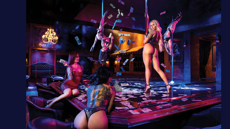 Painted Perfection, with Spearmint Rhino