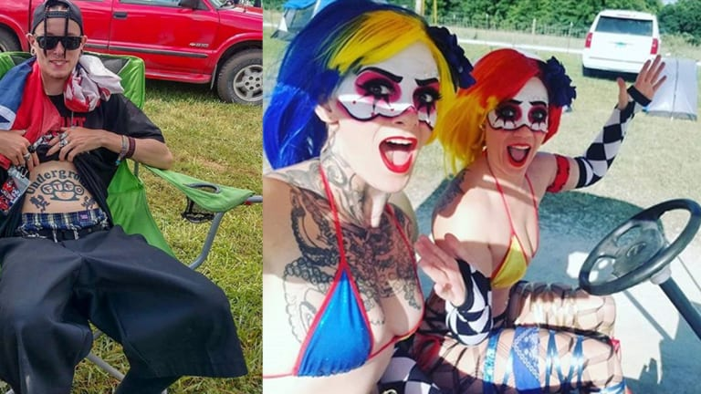 Check Out the Top Tattoo Moments from the 20th Gathering of the Juggalos