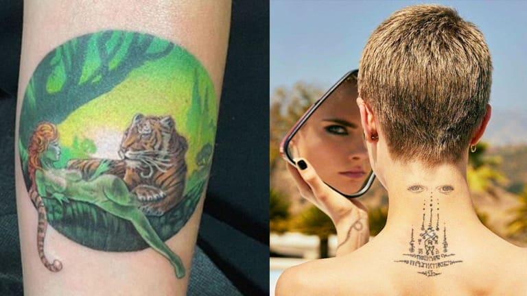 A Rundown Of Every One Of Cara Delevingne S Tattoos Tattoo Ideas