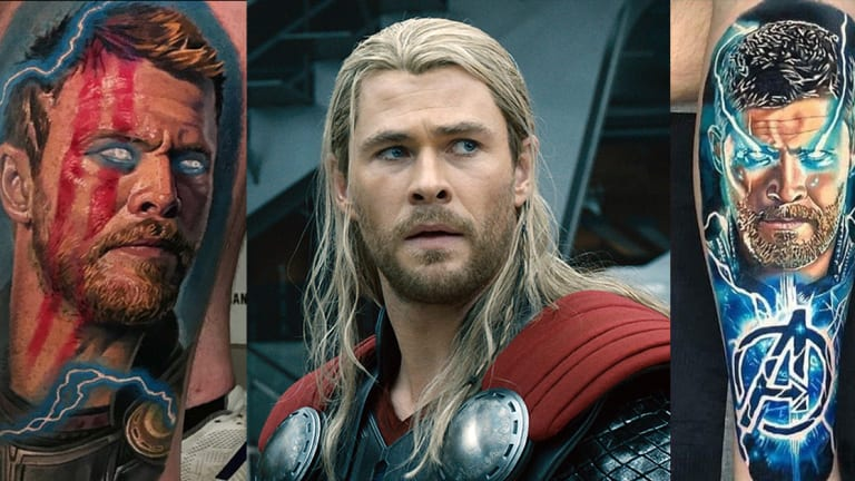 Happy Birthday Chris Hemsworth, Check Out These 10 Thor Tattoos