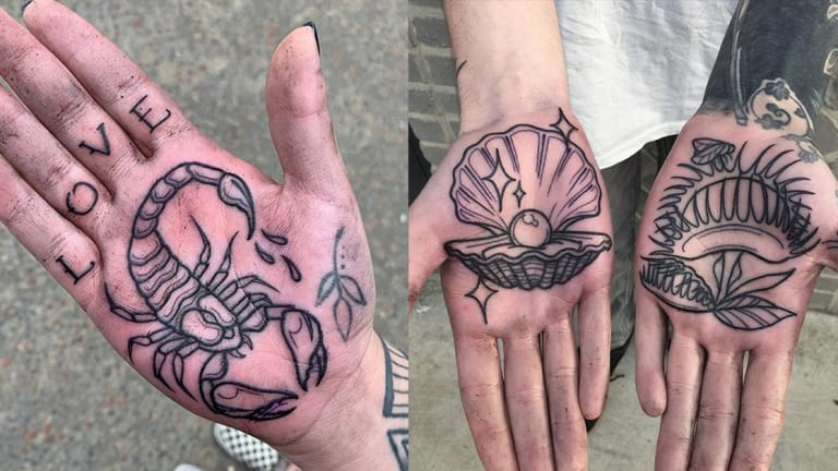 Why Everyone Wants Their Palms Tattooed by Luke Ashley