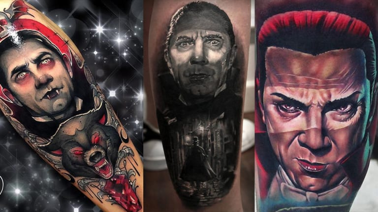Pay Homage to Horror Icon Bela Lugosi with 15 Frightening Dracula Tattoos