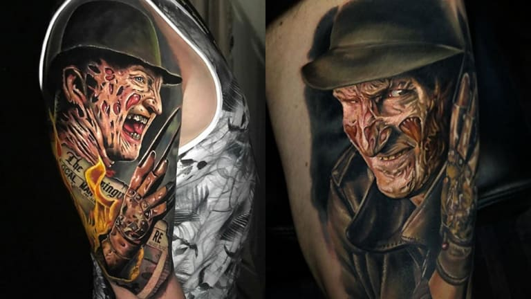 Honor the Anniversary of Wes Craven's Passing with 15 Freddy Krueger Tattoos