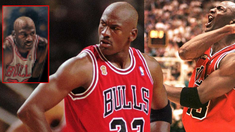 You Have To See This Michael Jordan Tattoo by Steve Butcher