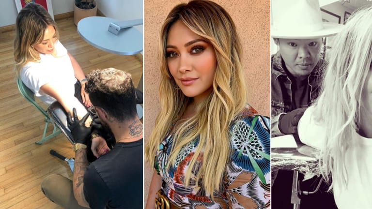 Hilary Duff's 15 Tattoos Have Been At The Front of the Tiny Tattoo Trend