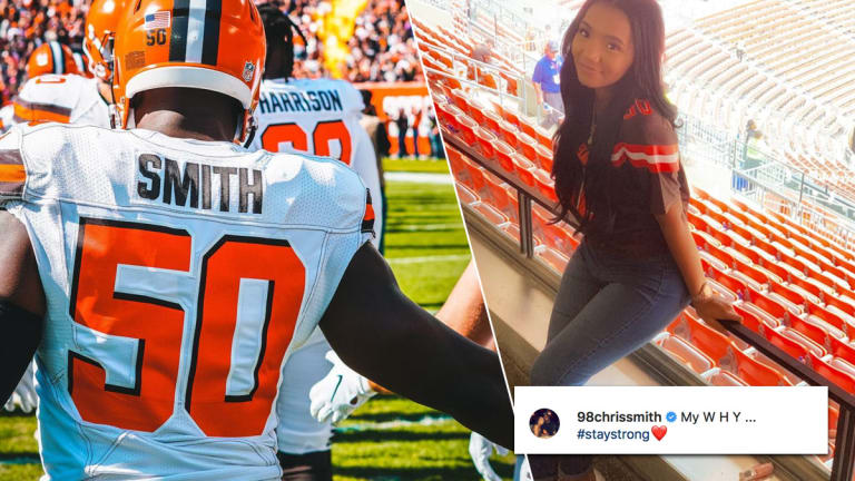 Cleveland Browns' Chris Smith Honors Late Girlfriend with Touching Tattoo