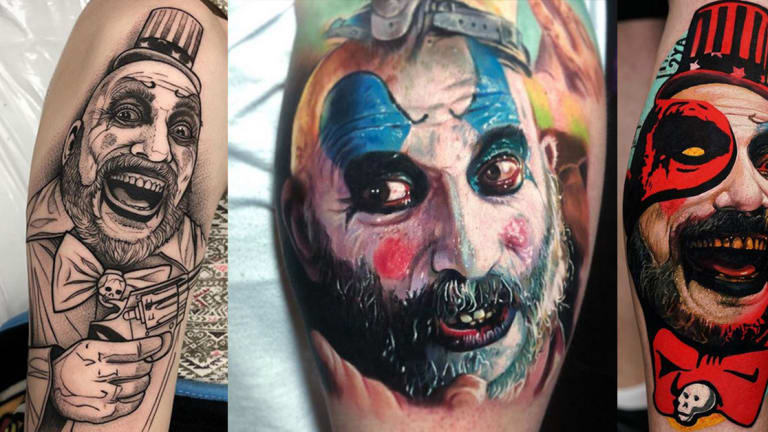Pay Tribute to Sid Haig with 23 Terrifying Captain Spaulding Tattoos