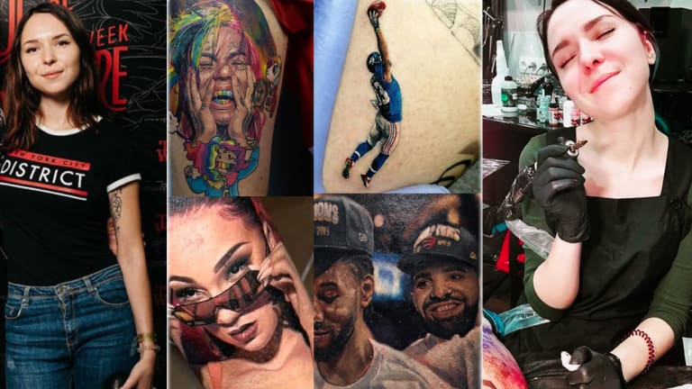 Nastasya Ustinova Is The Talented 21-Year-Old Tattoo Artist Behind Those Viral Tattoos