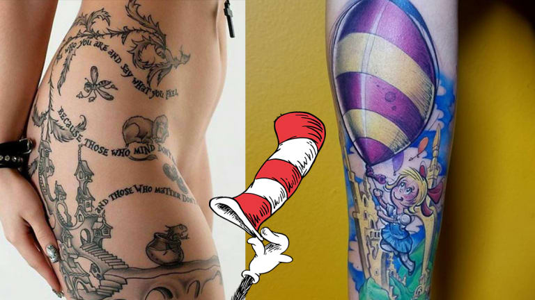 Pay Homage to Dr. Seuss with 18 Whimsical Tattoos