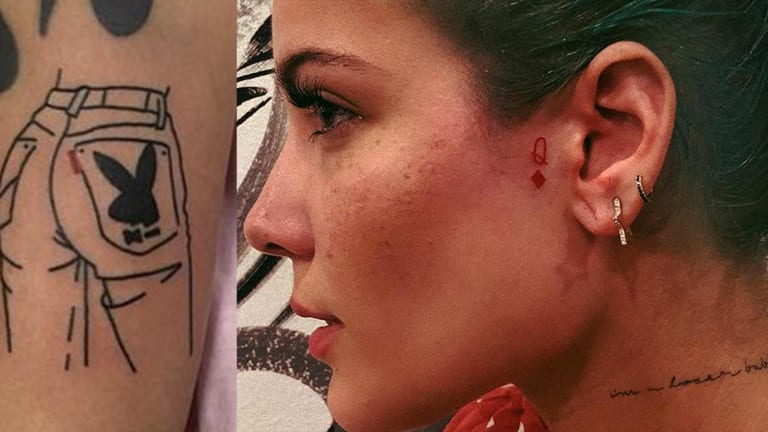 Celebrate Halsey's 25th Birthday with a Tour of Her Tattoos