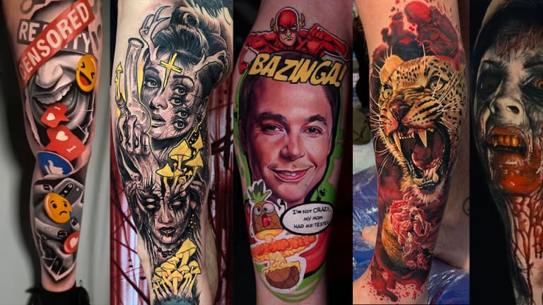Here are the Best Tattoos from the 2019 London Tattoo Convention