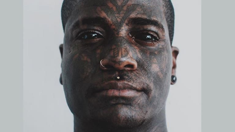 Meet the Dad of Three with Extreme Face Tattoos