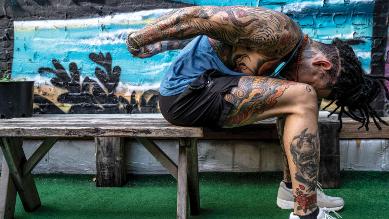 Durb Morrison Shares How Tattoo Artists Can Save Their Backs and Prolong Their Careers