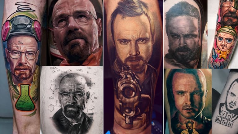 70+ Best Breaking Bad Tattoos for El Camino: A Breaking Bad Movie
