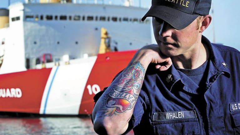 The US Coast Guard Has Updated Their Tattoo Policy