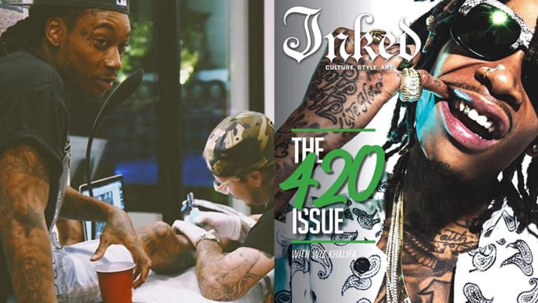 Wiz Khalifa Has Tattoos For The Musicians Who Can Out Smoke Him