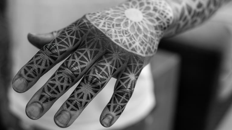 An Exclusive with The Leading Tattooer in the Sacred Geometry Style, Dillon Forte