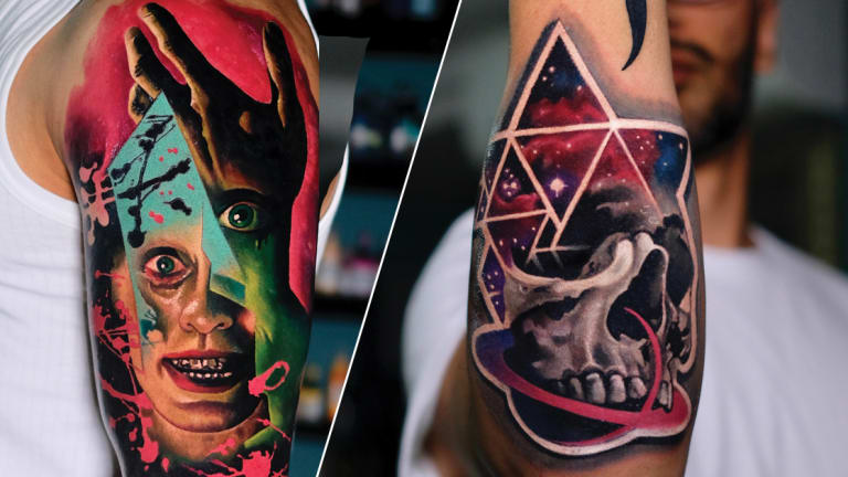 Surrealism Tattoos Exclusive with London's Volkan Demirci
