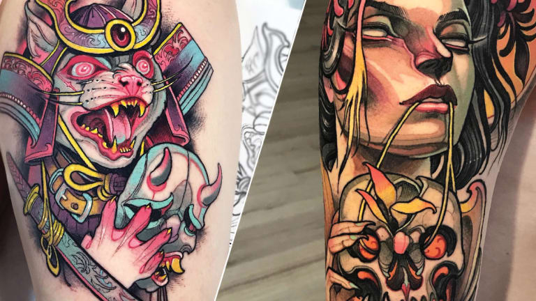 Tattoo Artist Isnard Barbosa Talks NC-17 Anime Fantasy and Neo-Traditional Tattoos