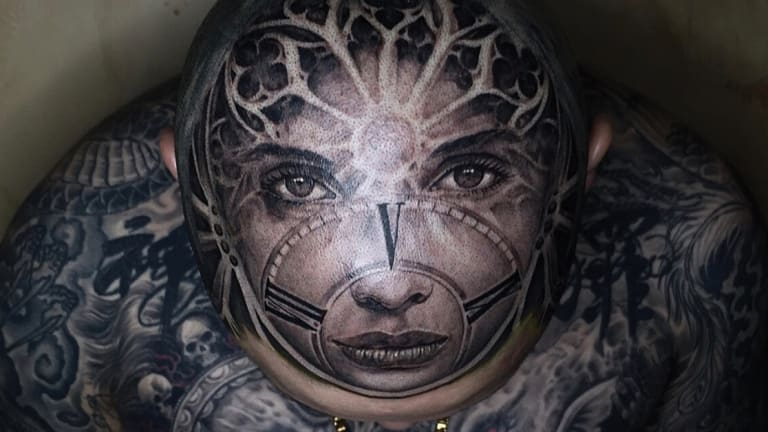 Meet Alexis Vaatate, Crowned The Owl King of the Tattoo Industry