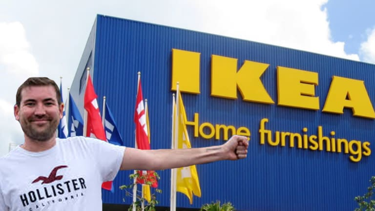 Ikea Fan Gets A Tattoo For The Swedish Store, After A Trip to Ibiza