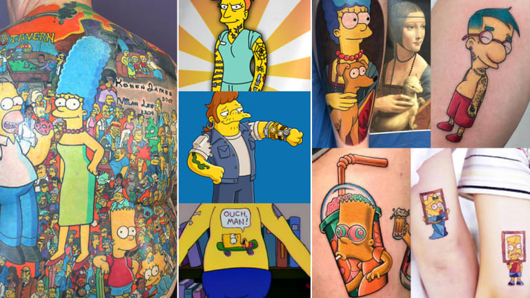 31 of Our Favorite Simpsons Tattoos, For 31 Seasons of 'The Simpsons'