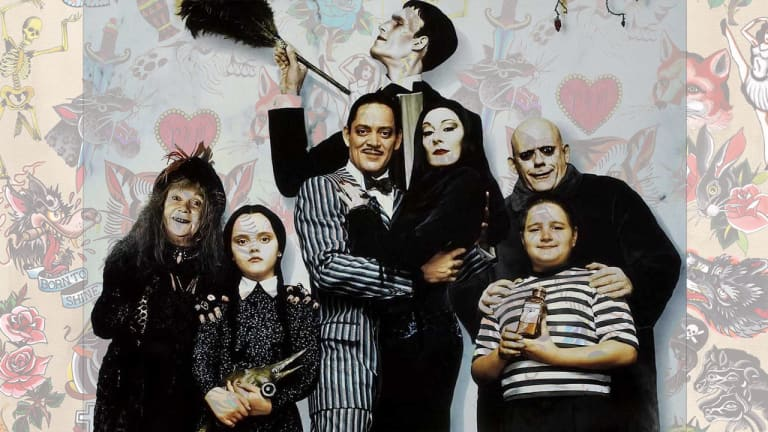 15 Addams Family Tattoos That Almost Make the New Animation Better
