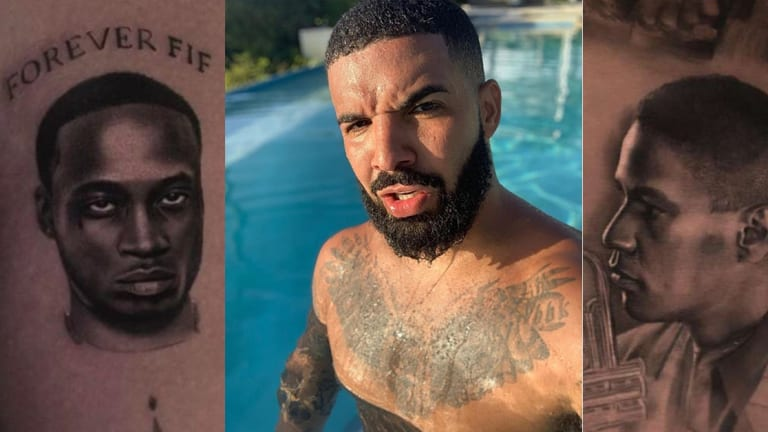 Take a Tour of Drake's Growing Tattoo Collection