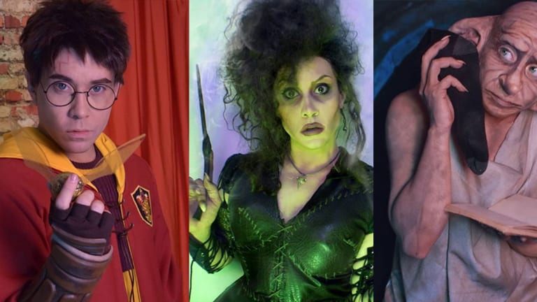 Drag Queen Transforms Into a Different Harry Potter Character For Every Day in October