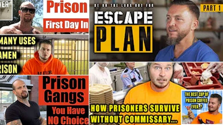 """Cell-ebrities"" Are Making Millions From Vlogs about Penitentiary Life"