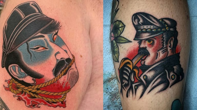 15 Raunchy Tom of Finland Tattoos