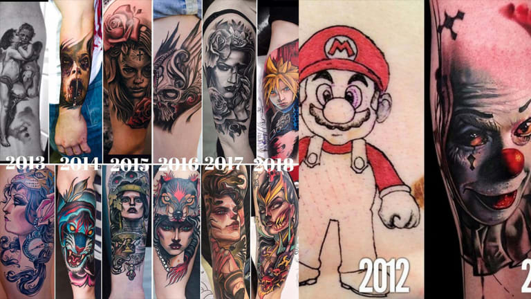 Talented Tattoo Artists Show Their Humble Beginnings