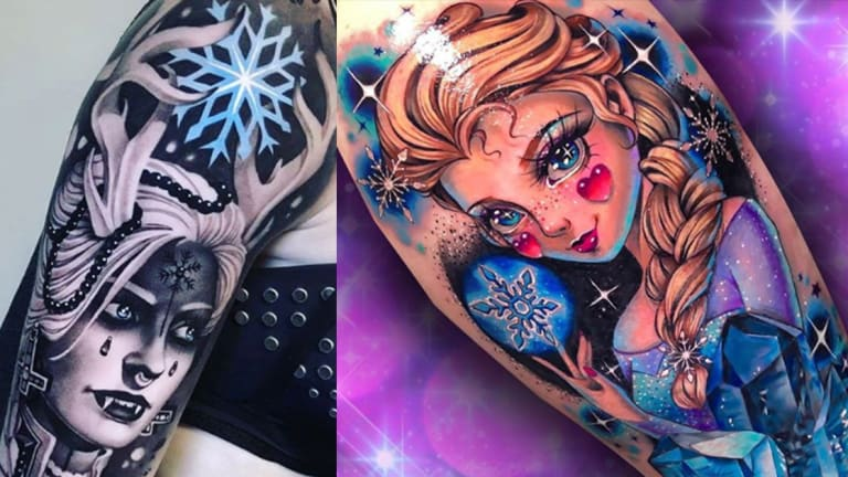 "20 Frozen Tattoos That Will Have You Belting ""Let It Go"""