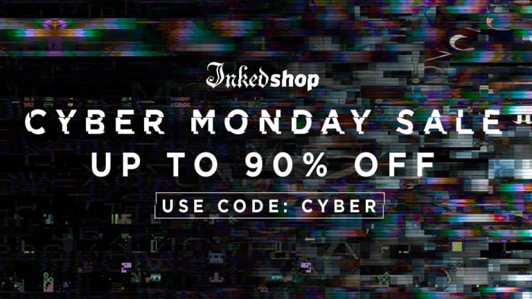 Mind Blowing Cyber Monday Deals From The Inked Shop