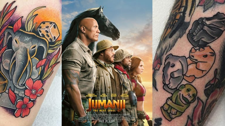 10 Jumanji Tattoos to Get You Pumped for the New Movie