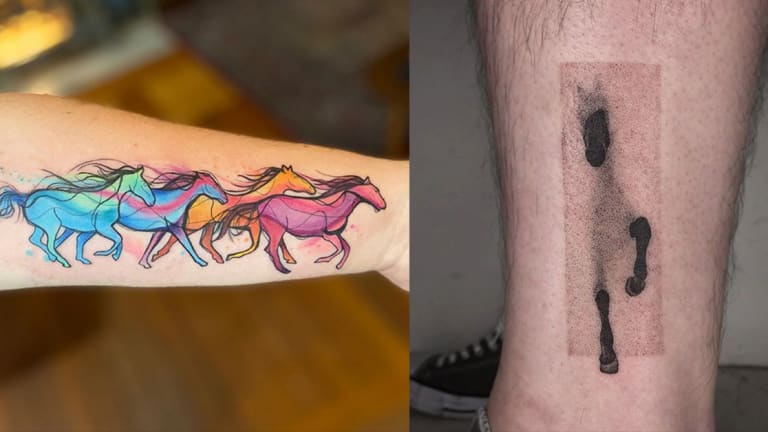 20 Beautiful and Badass Tattoos for National Horse Day