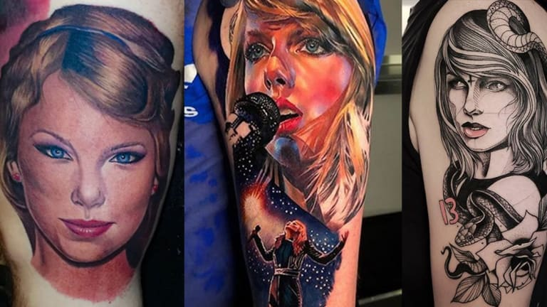 "Celebrate Taylor Swift's 30th Birthday with 16 ""Gorgeous"" Tattoos"