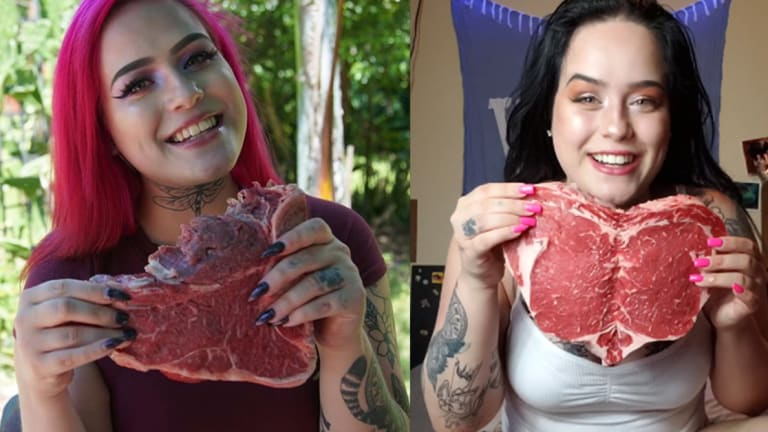 Meet the Tattoo Model Who Eats Raw Meat