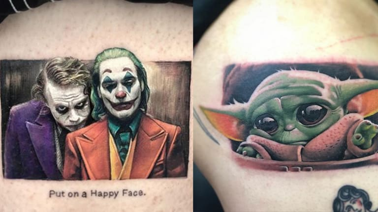 Joker, Baby Yoda and Forky— 7 Tattoos You Only Saw in 2019