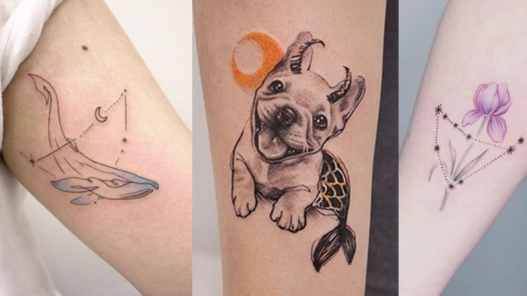 22 Tattoos Hand Picked for Hardworking Capricorns