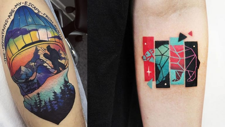 20 Sensational Tattoos For People Who Love Winter